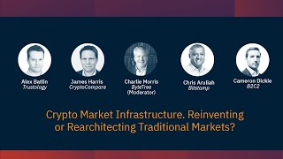 Coinscrum_pro :: Crypto Market Infrastructure - Reinventing  or Rearchitecting Traditional Markets?