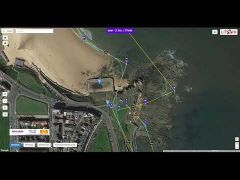 Beginners Tutorial dji phantom -  Litchi Hub on computer to Flight