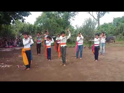 School student performence on Hey bajarangbali sunle binti hamar