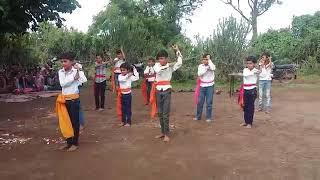 School student performence on Hey bajarangbali sunle binti hamar
