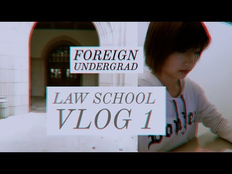 #Law School Vlog 1(open packages, study)