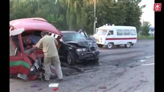 Страшная авария  ДТП  Пьяная девушка за рулем BMW X5