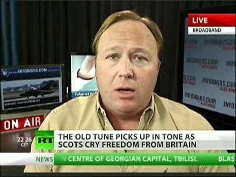 Alex Jones talks Texas secession