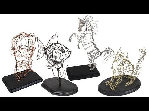 Wire Sculpture - Project #229