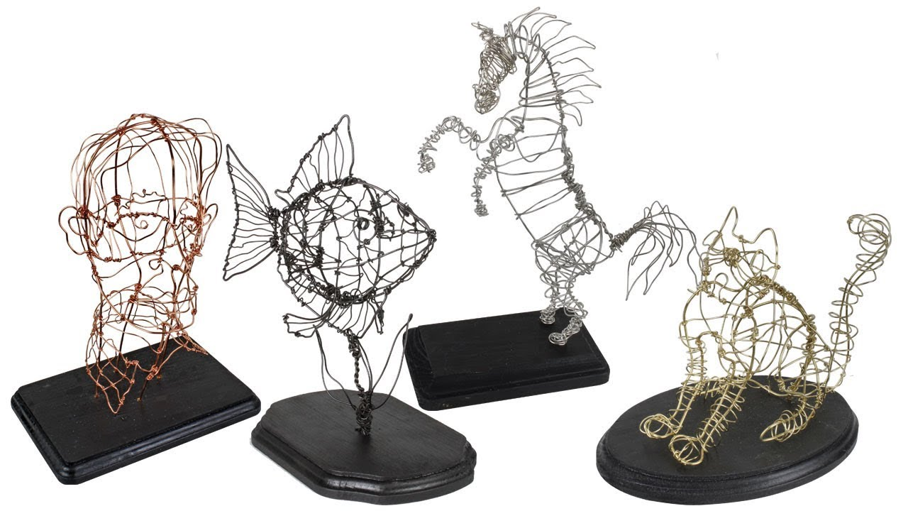 Wire Sculpture Project 229