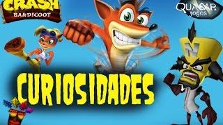 Curiosidades sobre Crash - Agradecimento aos mais de 1000 inscritos - Quasar Jogos