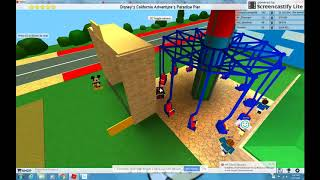 ROBLOX: Silly Symphony Swings recreation at DCA's Paradise Park at Theme Park Tycoon 2 (2018)
