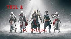 Assassins Creed Reihenfolge aller Serienteile/Einschätzung  + Trailer TEIL 1