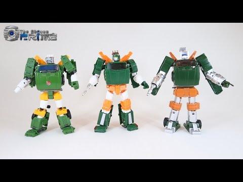 X-Transbots Paean - Masterpiece Hoist Preview