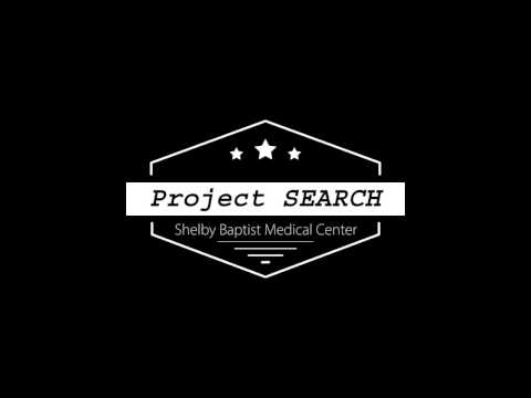 Shelby Baptist Project SEARCH Interns Working