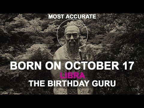 Born On October 17 | Birthday | #aboutyourbirthday | Sample