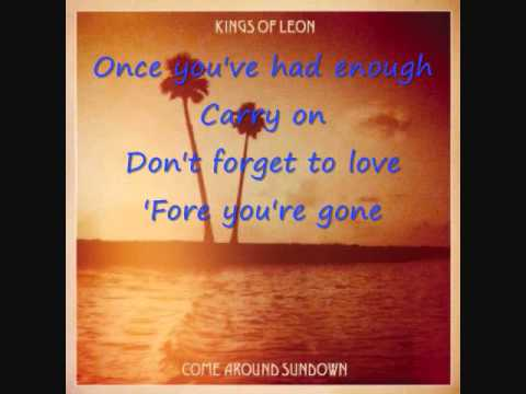 Kings Of Leon-The Immortals Lyrics