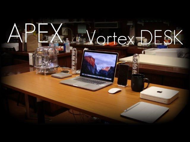 The Ultimate Height Adjustable Computer Desk? - Apex VORTEX Series 60 Desk - Review