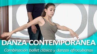 DANZA CONTEMPORÁNEA 7. Combinación ballet clásico y danzas afrocubanas