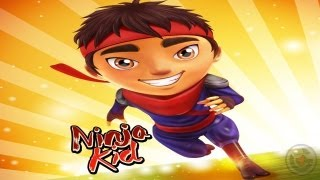 Ninja Kid Run by Fun Games For Free - iPhone & iPad Gameplay Video