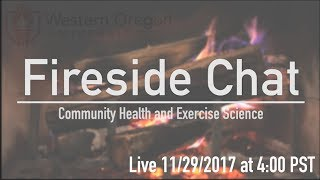 Fireside Chat | Community Health and Exercise Science