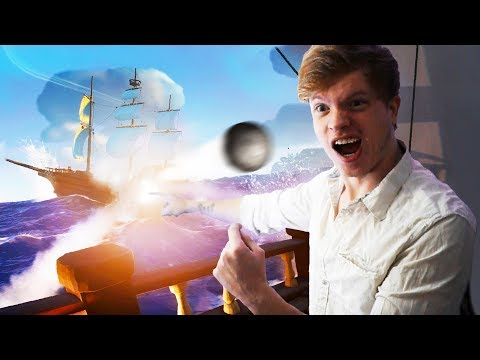THE GREATEST SHIP BATTLES OF ALL TIME!?! - Sea of Thieves
