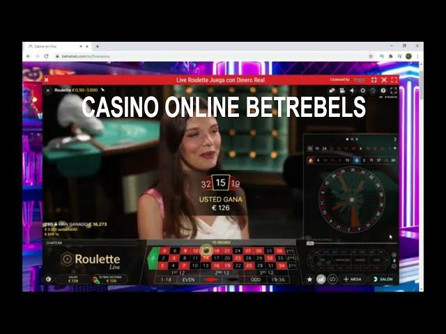 Casino Online Betrebels 🔥 Ruleta Europea 100€ A 400€ casino en línea✔️