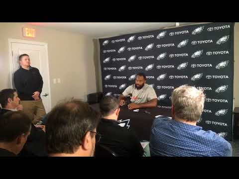 Philadelphia Eagles' Fletcher Cox discusses offseason work, new teammates and more