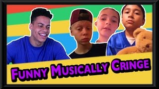 FUNNY MUSICAL.LY CRINGE COMPILATION REACTION
