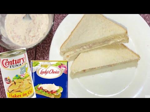 Creamy Tuna Sandwich | Tuna Spread | Palaman Sa Tinapay