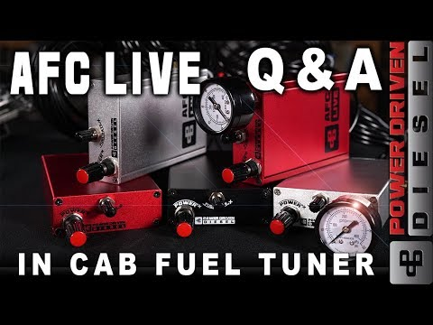 AFC LIVE in Cab Fuel Tuner