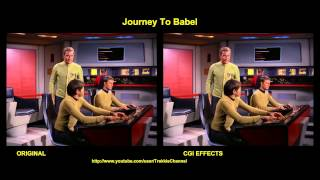 Star Trek - Journey To Babel - visual effects comparison