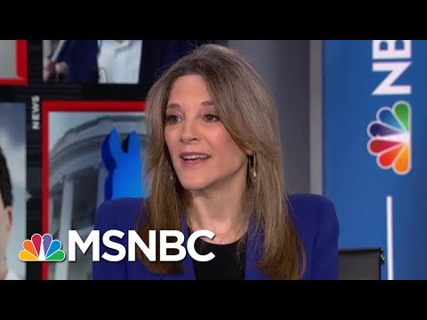 Marianne Williamson: We Can Turn Love Into A Political Force | Velshi & Ruhle | MSNBC
