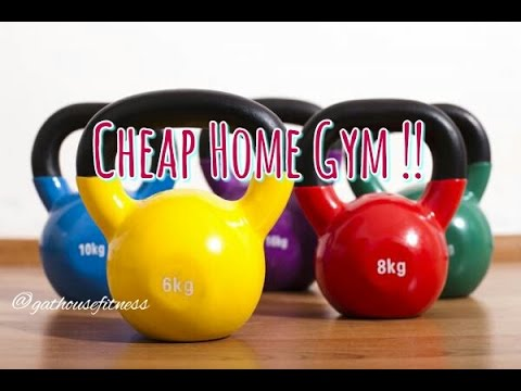 cheap home gym equipment  easy fitness  gathouse fitness