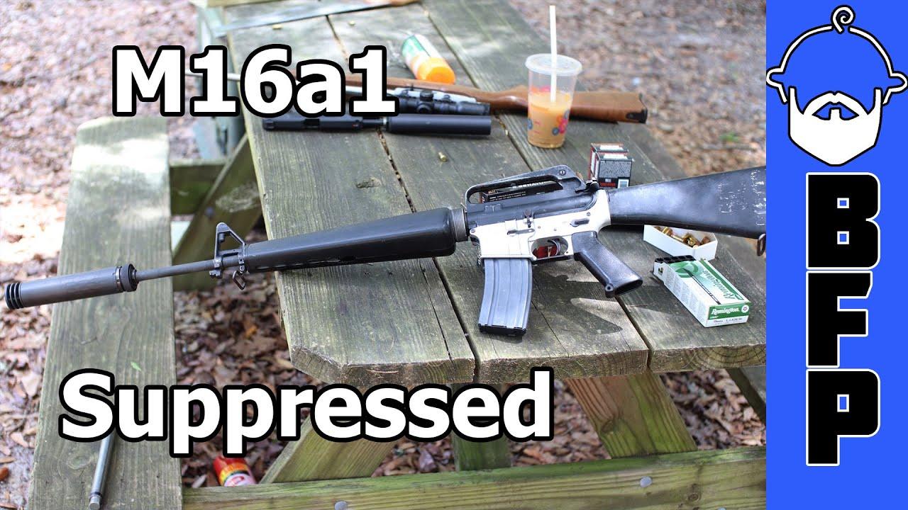 M16a1 Suppressed - Friday Diddler