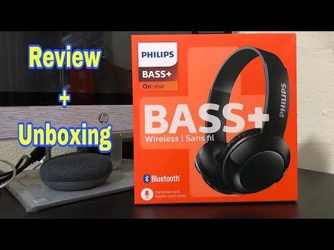 Philips Bluetooth Bass On Ear Headphones With Mic Review And Unboxing Youtube