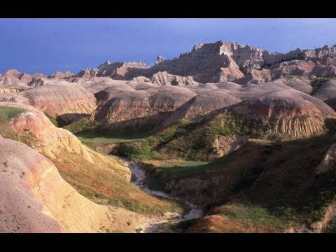 Dramatic Badlands National Park, South Dakota