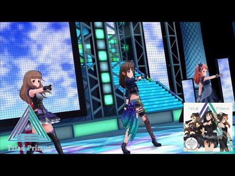 「デレステ」Trancing Pulse (Game ver.) 標準メンバー Triad Primus 神谷奈緒、渋谷凜、北条加蓮 SSR