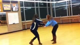 Bi and Reds interpretive dancing!