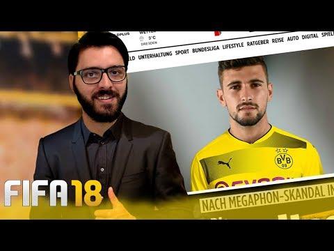 FIFA 18 l MODO CARREIRA #4 l ARRASCAETA NO BORUSSIA ? - 동영상