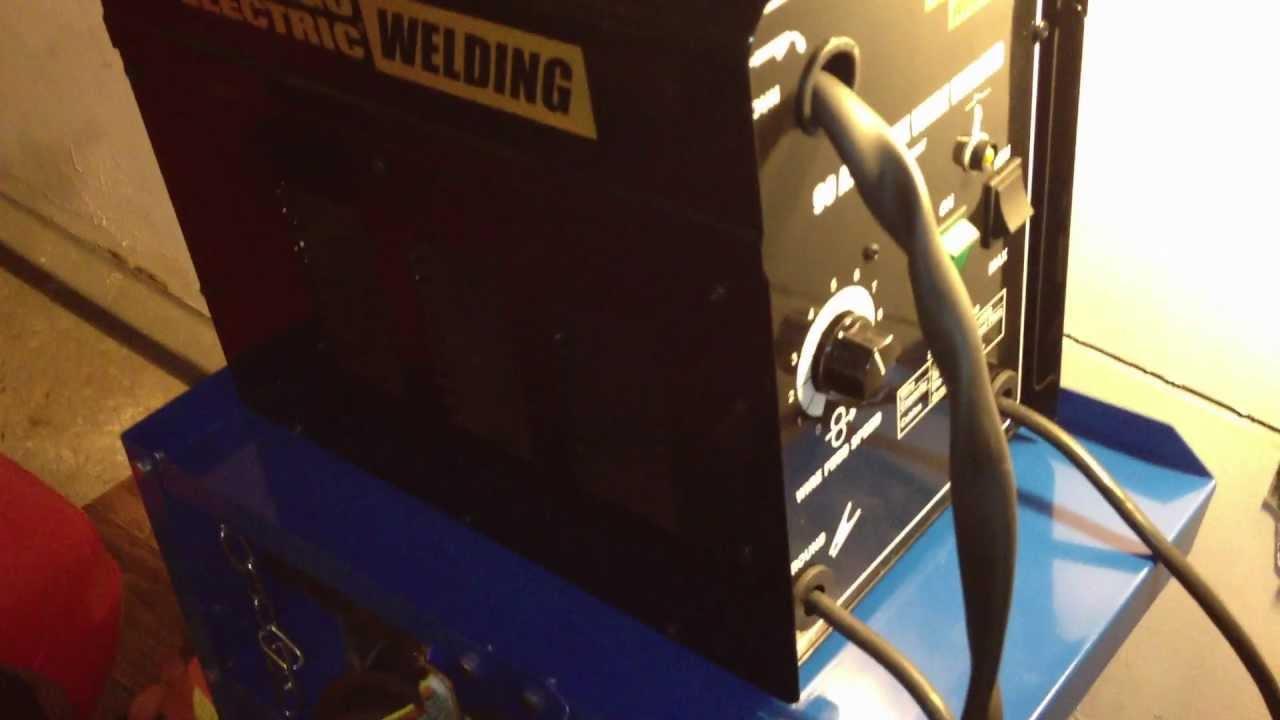 Wire Welder, 90 Amp Flux Chicago Electric Welding - Item#68887 ...