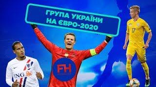 Україна на Євро З ким збірна зустрінеться у групі