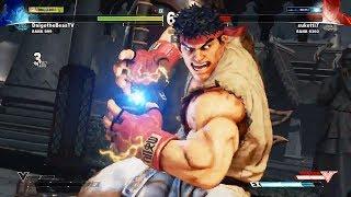 Street Fighter V match from Daigo Umehara.