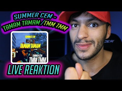 Summer Cem  TAMAM TAMAM / ` TMM TMM ` [ official Video ] prod. by Miksu Live Reaktion