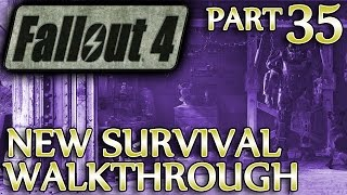 Ⓦ Fallout 4 New Survival Walkthrough ▪ Part 35: Med-Tek, Cure For MacCready