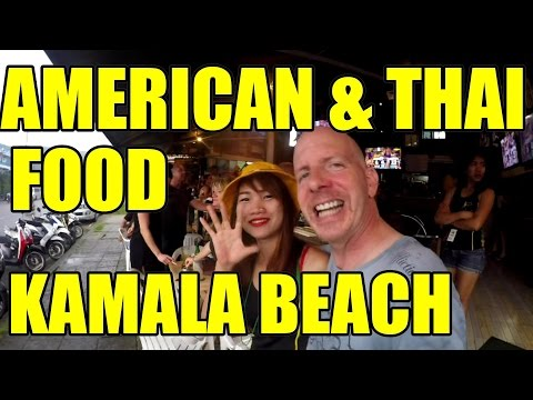 AMERICAN AND THAI FOOD IN KAMALA THAILAND V188