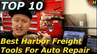 Top 10 Harbor Freight Tools for Auto Repair!!