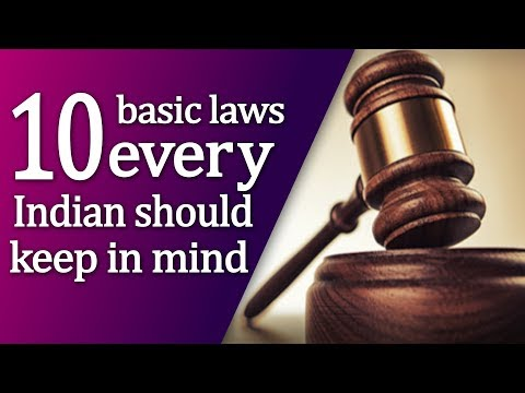ten basic laws every Indian should keep in mind   Top News Networks