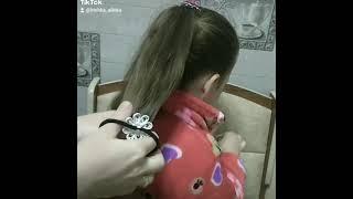 Самая простая косичка без плетения Справиться даже папа Прическа в школу и садик Прическа за 2 ми