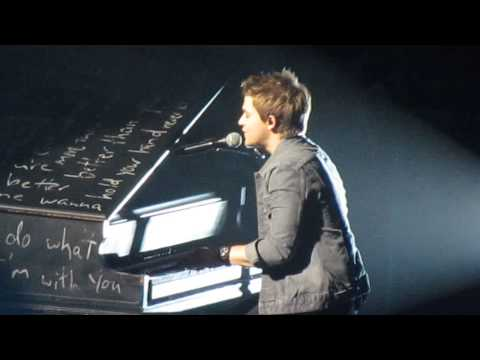 Hunter Hayes- Wanted [w Speech] (Live)