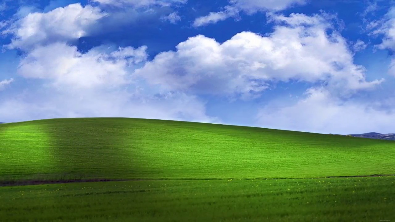 Bliss WindowsXP Default Wallpaper Animated