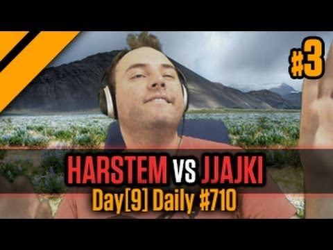 Day9 Daily #710 -  Harstem vs Jjajki -  EUROPE HOLDS P3