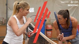 Lea Sprunger vs Timea Bacsinszky | Briefing
