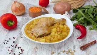 Как приготовить чечевичный дал с курицей - Рецепты от Со Вкусом