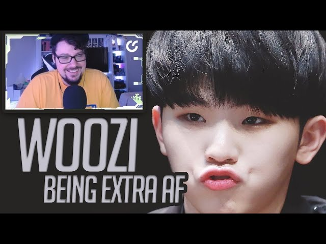 Mikey Reacts to seventeen's WOOZI being extra af in tv and web shows